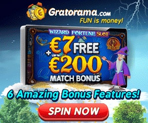 Latest no deposit bonus from Gratorama Casino