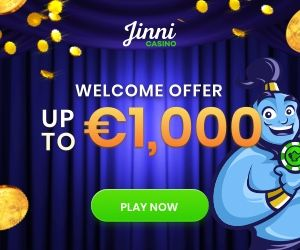 Featured bonus from Jinni Casino