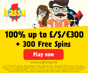 Latest no deposit bonus from Kassu