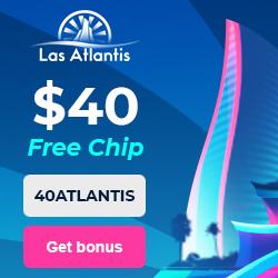 Latest no deposit bonus from Las Atlantis