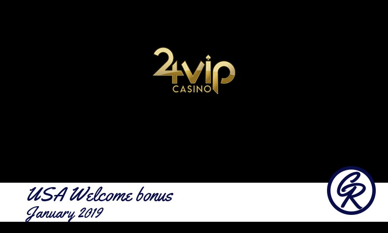 Latest 24VIP Casino recommended USA bonus, 240 Spins