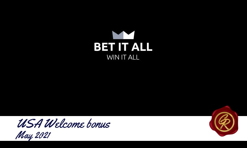 Latest Bet it All Casino recommended USA bonus May 2021, 111 Free spins