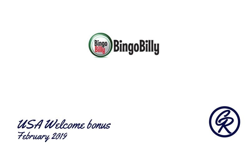 Latest BingoBilly Casino recommended USA bonus