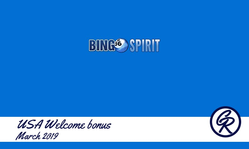 Latest BingoSpirit Casino recommended USA bonus
