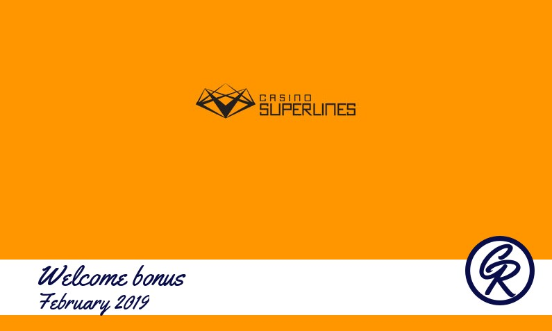 Latest Casino Superlines recommended bonus