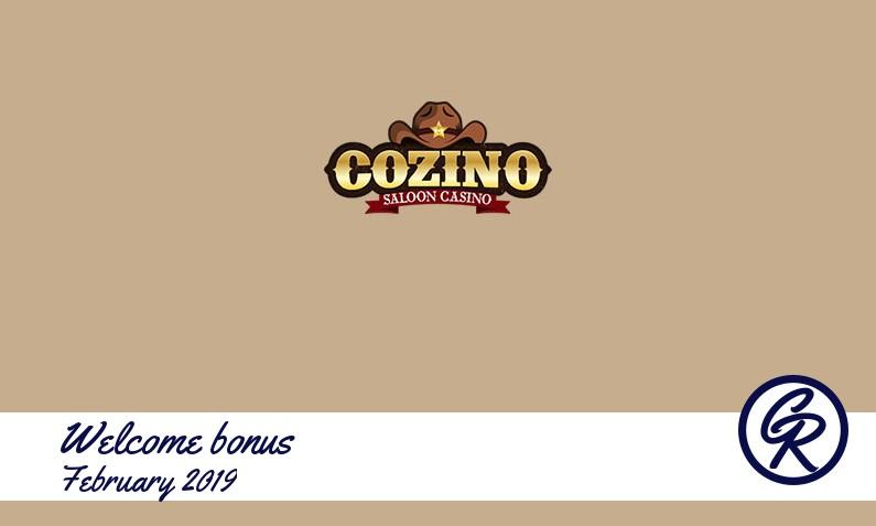 Latest Cozino Casino recommended bonus, 100 Free spins