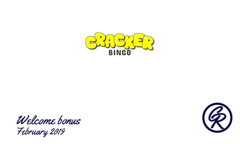 Latest Cracker Bingo Casino recommended bonus February 2019, 10 Extra spins