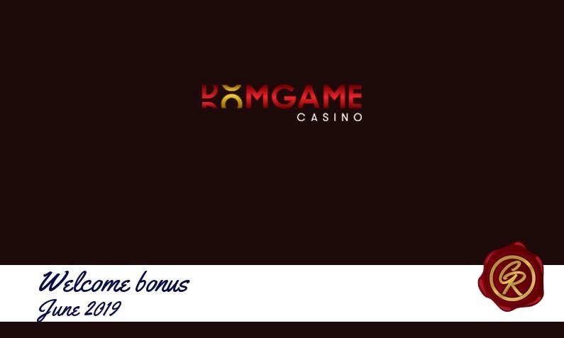 Latest DomGame Casino recommended bonus