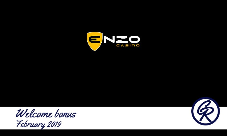 Latest EnzoCasino recommended bonus February 2019, 25 Free spins