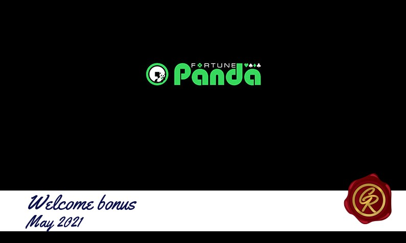 Latest Fortune Panda recommended bonus May 2021, 50 Freespins