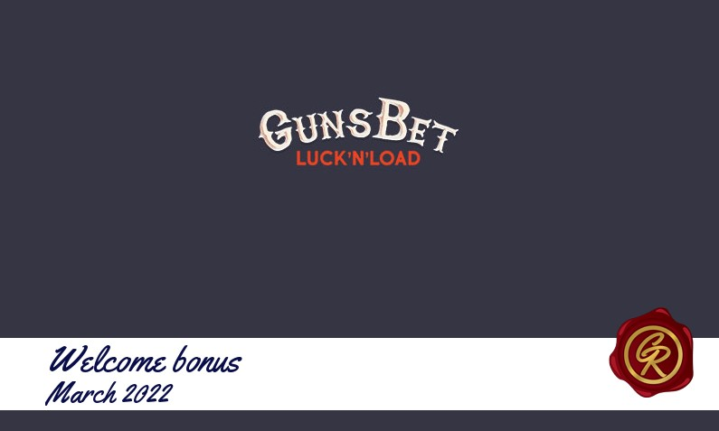 Latest GunsBet Casino recommended bonus, 200 Free spins