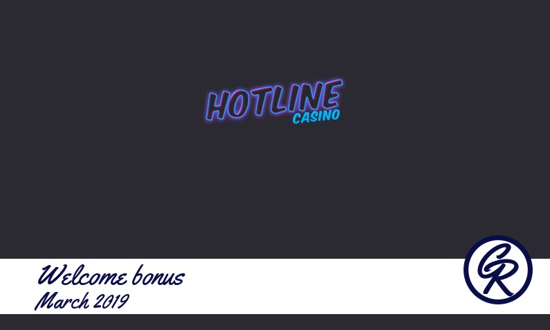 Latest Hotline Casino recommended bonus March 2019, 50 Extraspins