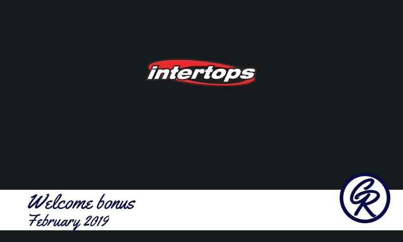 Latest Intertops Casino recommended bonus February 2019