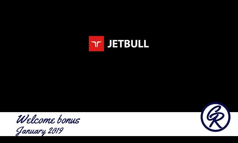Latest Jetbull Casino recommended bonus January 2019
