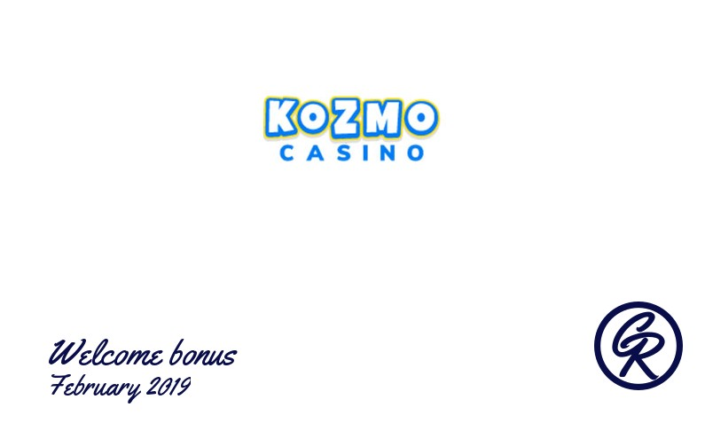 Latest Kozmo Casino recommended bonus, 50 Free-spins
