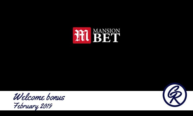 Latest MansionBet Casino recommended bonus February 2019