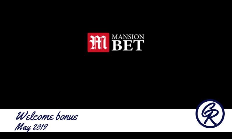 Latest MansionBet Casino recommended bonus May 2019