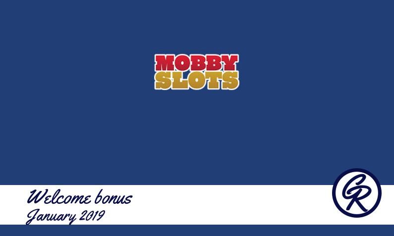 Latest MobbySlots Casino recommended bonus