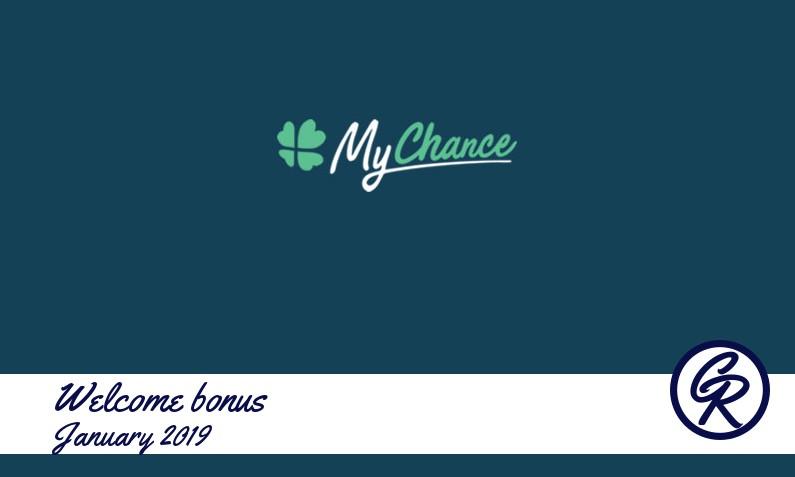 Latest MyChance Casino recommended bonus, 50 Extraspins