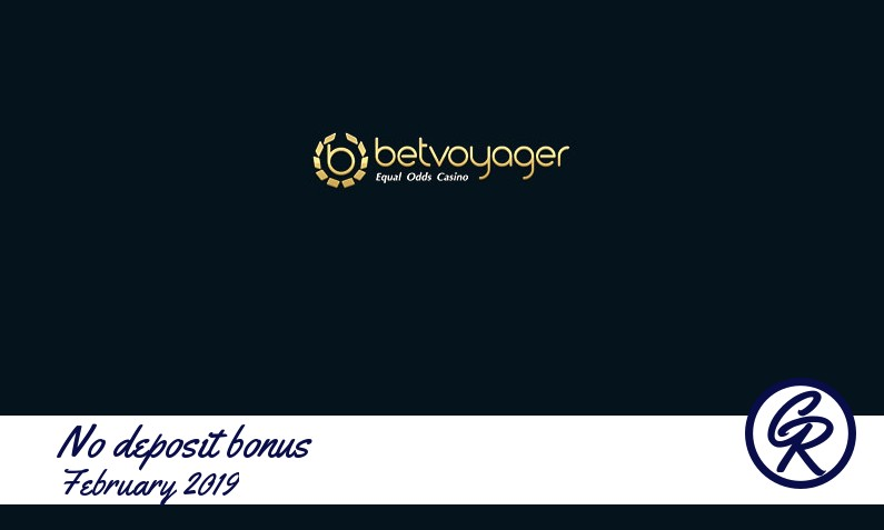 Latest no deposit Betvoyager Casino registration bonus February 2019, 5 Bonus-spins
