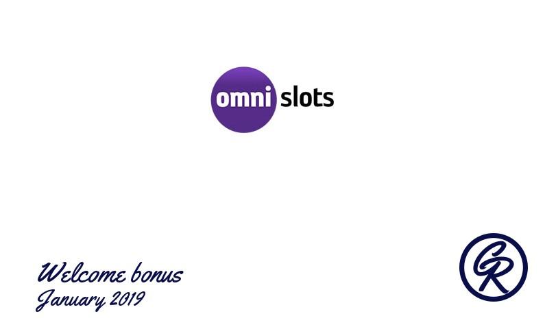 Latest Omni Slots Casino recommended bonus, 50 Free spins bonus