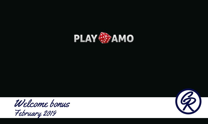 Latest Play Amo Casino recommended bonus February 2019, 100 Extra spins