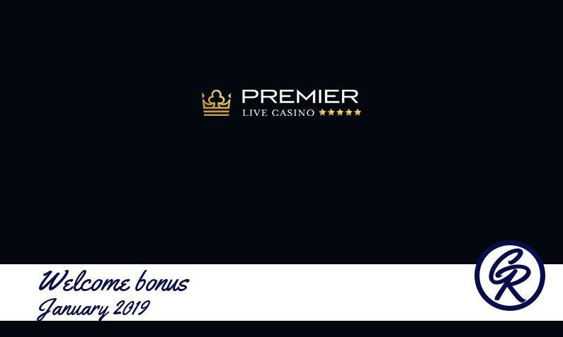 Latest Premier Live Casino recommended bonus