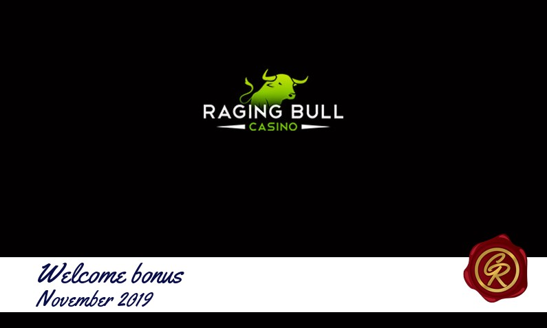 Latest Raging Bull recommended bonus November 2019