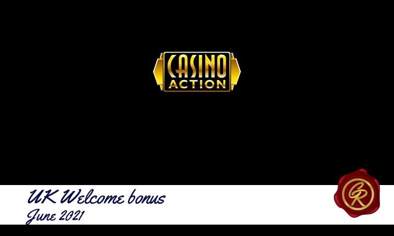 Latest UK Casino Action recommended bonus