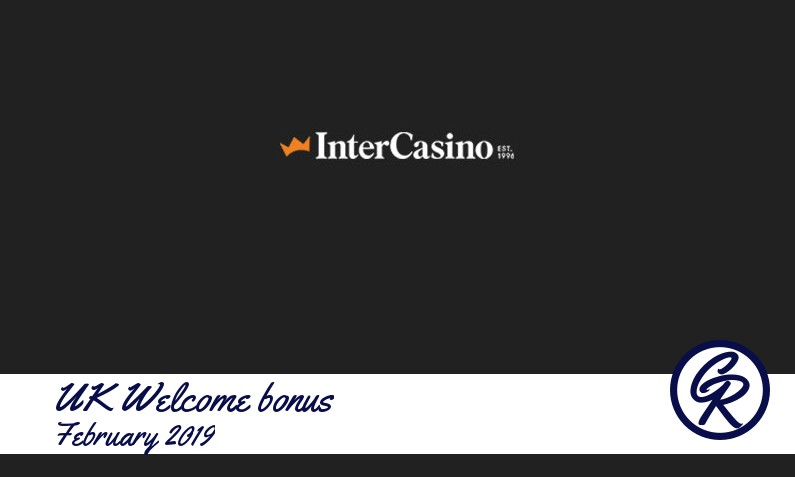 Latest UK InterCasino recommended bonus