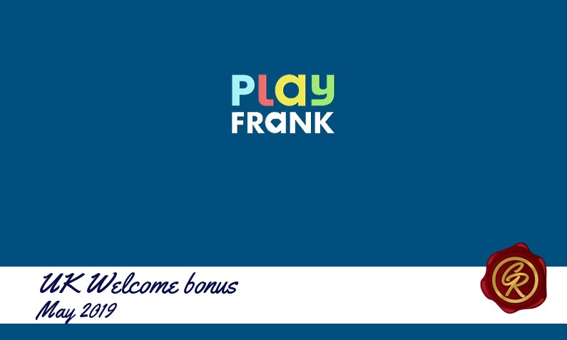 Latest UK Play Frank Casino recommended bonus, 50 Free-spins