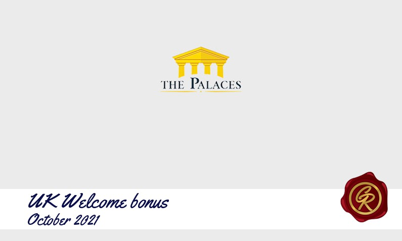 Latest UK The Palaces Casino recommended bonus, 50 Extraspins