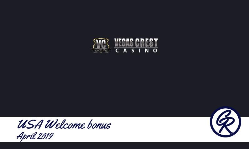 Latest Vegas Crest Casino recommended USA bonus, 30 Bonus-spins