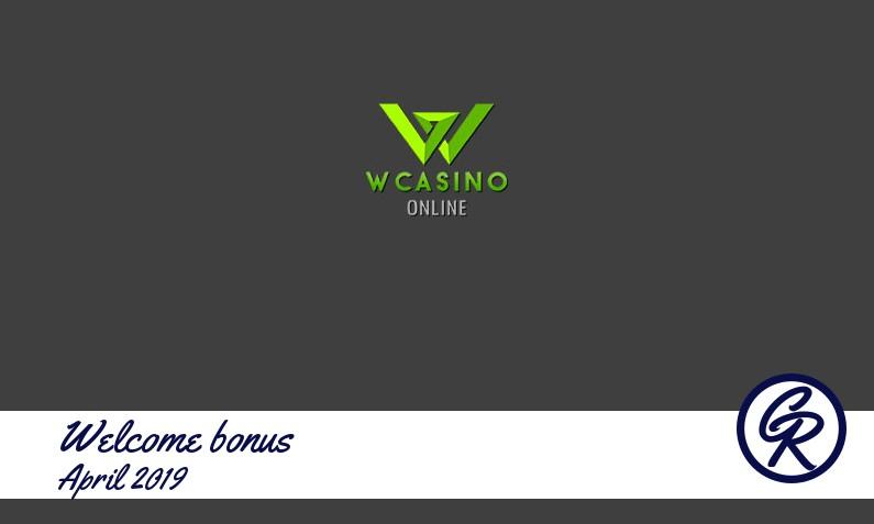 Latest Wcasino recommended bonus, 100 Bonus spins