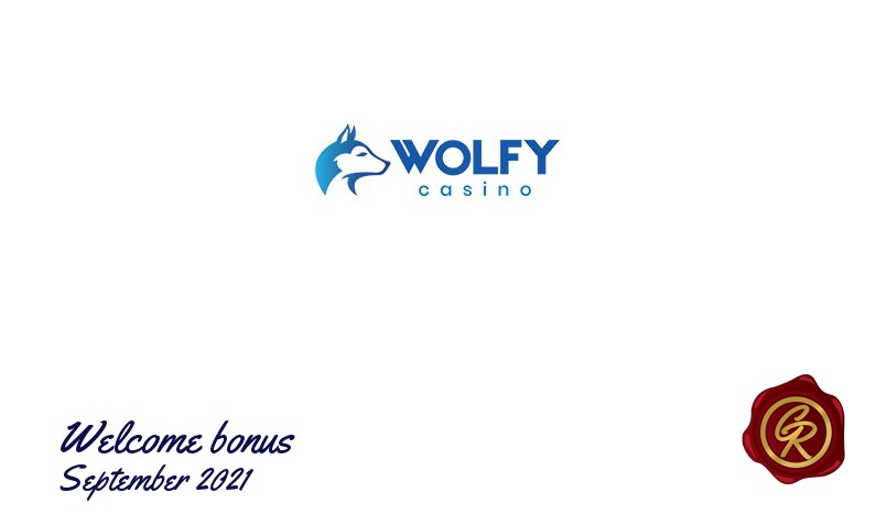 Latest Wolfy Casino recommended bonus, 20 Extra spins