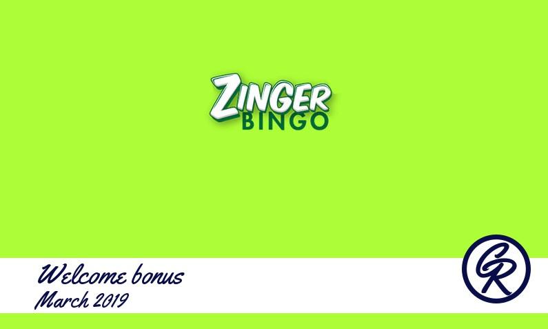 Latest Zinger Bingo Casino recommended bonus, 10 Extra spins