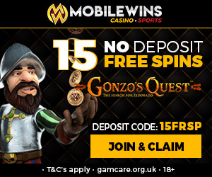 Latest no deposit bonus from Mobile Wins Casino