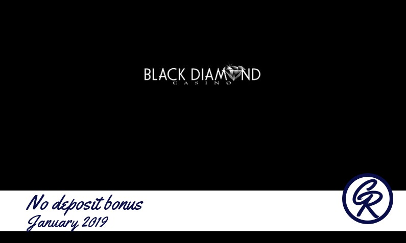New no deposit bonus from Black Diamond Casino January 2019, 25 Free spins