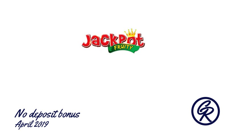 New no deposit bonus from Jackpot Fruity Casino April 2019, 10 Freespins