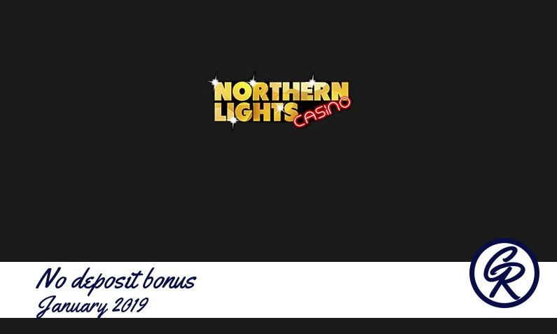 New no deposit bonus from Northern Lights Casino January 2019, 10 Bonus-spins