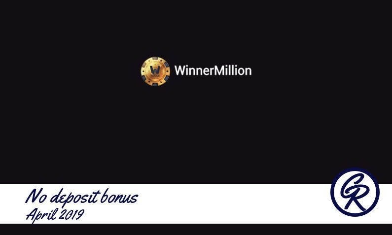 New no deposit bonus from Winner Million Casino