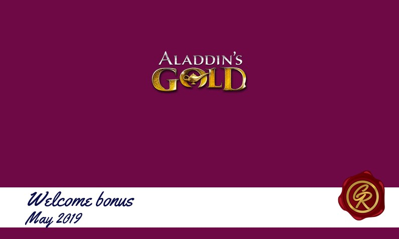 New recommended bonus from Aladdins Gold Casino