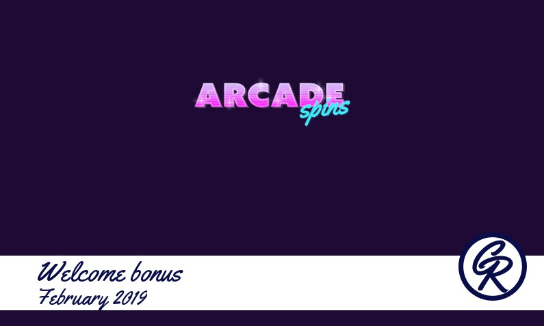 New recommended bonus from Arcade Spins Casino February 2019, 25x Freespins