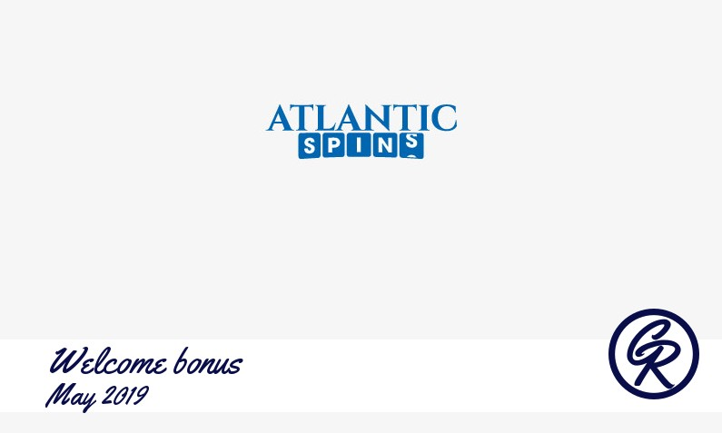 New recommended bonus from Atlantic Spins Casino May 2019, 10 Extra spins