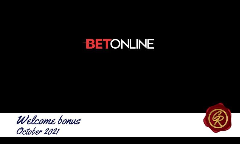 New recommended bonus from BetOnline