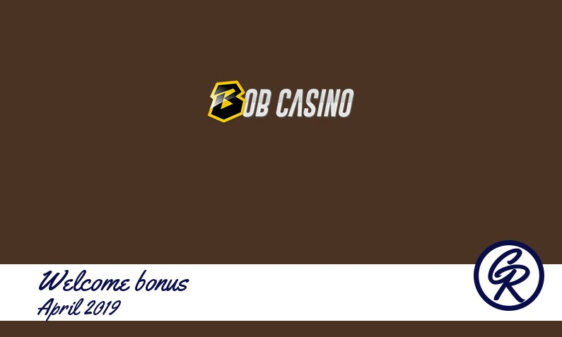 New recommended bonus from Bob Casino April 2019, 100 Free spins