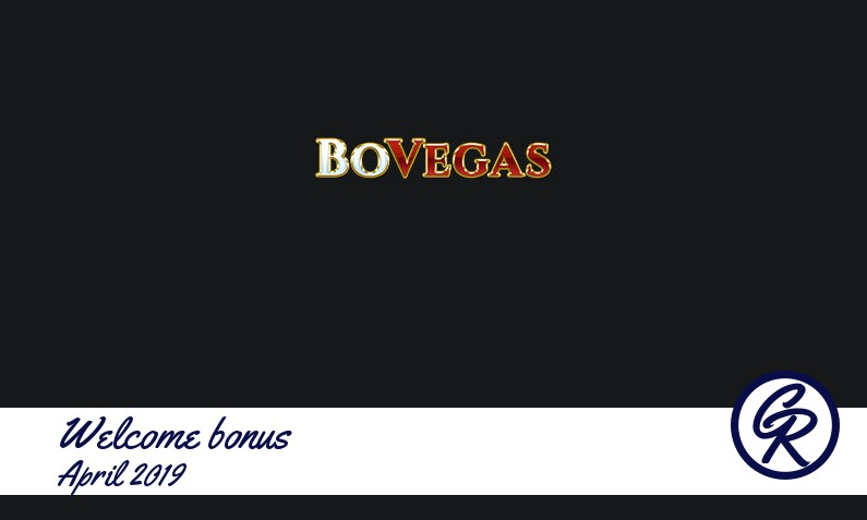 New recommended bonus from BoVegas Casino April 2019