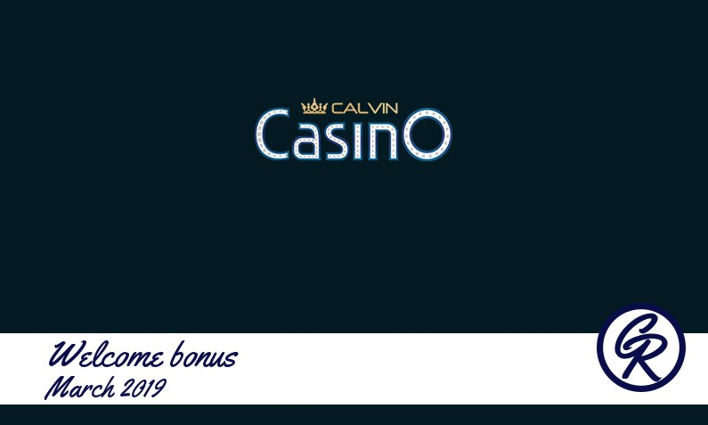 New recommended bonus from Calvin Casino, 3€ Extra spins