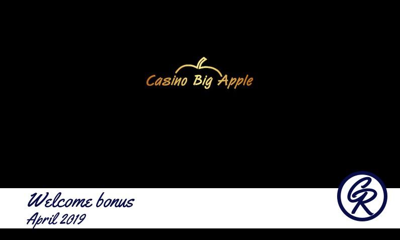 New recommended bonus from Casino Big Apple, 20 Bonus-spins