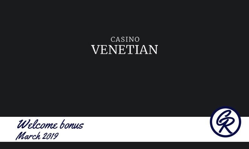 New recommended bonus from Casino Venetian